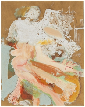 Willem de Kooning UNTITLED (FLOATING WOMAN)