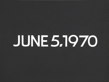 On Kawara JUNE 5, 1970 (TODAY SERIES NO. 102)