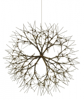 Ruth Asawa UNTITLED (S.371, HANGING TIED-WIRE, CLOSED-CENTER, MULTI-BRANCHED FORM BASED ON NATURE)