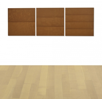 Donald Judd UNTITLED [THREE WORKS]