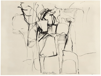 Philip Guston UNTITLED